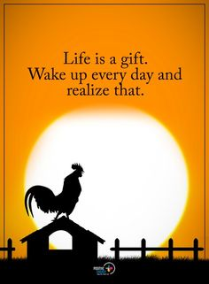 Life is a gift. Wake up every day and realize that.  #IamOneMind
