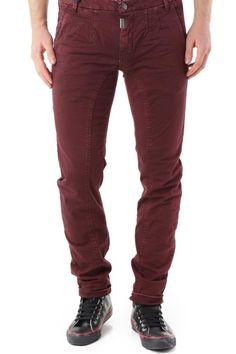 Pantaloni Uomo Absolut Joy (VI-P2463) colore Bordo
