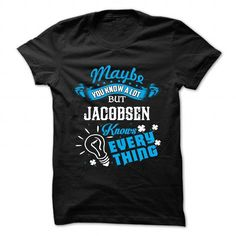 JACOBSEN - #white shirt #tshirt design. LOWEST PRICE => https://www.sunfrog.com/Camping/JACOBSEN-87750420-Ladies.html?68278