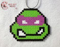 Teenage Mutant Ninja Turtles Donatello Necklace Bead Sprite Perler ...