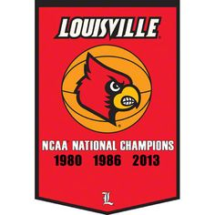 Louisville Cardinals Champions x Banner Flag Louisville Winning Streak Basketball Court Layout, Indoor Basketball Court, Logo Basketball, Basketball Leagues, Basketball Legends, Basketball Outfits, Basketball Hoop, Louisville Cardinals Basketball, Dallas Cowboys