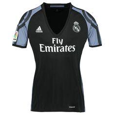 80622d109e3 Real Madrid Away Black Thailand Fans Women s Soccer Jersey