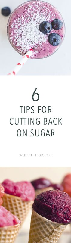 How to cut back on sugar. 6 tips from a pro