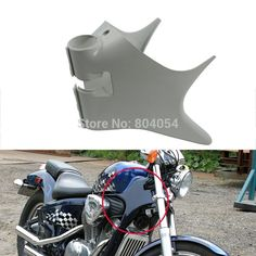 23.17$  Buy here - http://ali0qg.shopchina.info/1/go.php?t=32420283173 - Motorcycle ABS Plastic Frame Neck Cover Cowl For Honda Shadow VT600 VLX 600 STEED400 New  #bestbuy