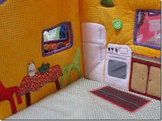 Fabric Dollhouse (KK)