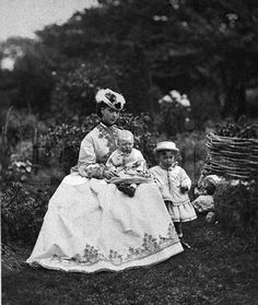 Alexandra, Princess of Wales with her son Prince George, Duke of York on her knee and her eldest son Prince Albert, Duke of Clarence standing next to her. Get premium, high resolution news photos at Getty Images Princess Alexandra, Princess Margaret, Princess Of Wales, Queen Victoria Descendants, Alexandra Of Denmark, Queen Victoria Prince Albert, Royal House, Royal Life, King George