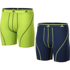 adidas Men's Sport Performance Climalite Boxer Briefs - 2-Pack