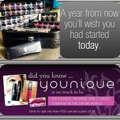 $250 in products, $25 in Y cash on your birthday , a leather embossed case, FREE shipping, and TWO of our new Fiberlash + mascaras! So... That's like $300+ in products ANNNND the opportunity of a lifetime. I love working from home (or the pool lake, ⛺coffee shop ☕etc) www.youniqueproducts.com/AngelaLuttrell
