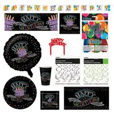 ZING Birthday Combo Pack - 85 items