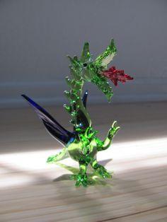 Dragón de vidrio, artesanía mexicana