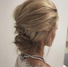Messy hair updo by Emma Chen https://www.instagram.com/emmachenartistry/
