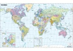 Buy Spanish World Map online Africa Continent Map, Asia Map, World Map Online, Usa Road Map, Latitude And Longitude Map, World Geography Map, World Political Map, Cool World Map, Belgium Map