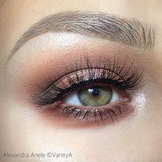 IT'S LIVE! Just uploaded my first YouTube tutorial on this look! VanityA! Link in my bio! #makeup #art #beauty #alexandraanele #vanitya #youtube by alexandra_anele