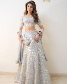 For Order & Details Please Call & Whatsapp my fav Icy blue Beautiful Indian Actress Urvashi Rautela Indian Lehenga, Indian Gowns, Indian Attire, Indian Ethnic Wear, Lehenga Choli, Anarkali, Indian Bridal Outfits, Indian Party Wear, Indian Designer Outfits