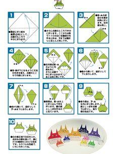 tuto totoro origami