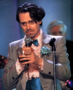 "Steve Buscemi in ""The Wedding Singer, "" he stole the movie! Steve Buscemi, Great Films, Good Movies, Awesome Movies, The Wedding Singer, Adam Sandler, Movie Costumes, Movie Characters, Famous Faces"