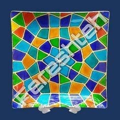 Handmade:fereshteh ahmadpour Painting on the plate