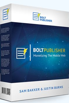 II. What is Bolt Publisher Review? Is a brand new software that's going to help you to easily within minutes publish profitable content to Social Media.  This is a brand new software the market has never seen before that solves a big problem for marketers and businesses using Facebook. This is one of the best ways right now to generate exposure over Facebook as well as leads and sales.