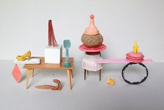 Sabine Timm, photography, little objects, doll fernitures, art, vintage, pictures,