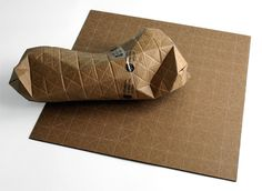 Universal Packaging System - pack anything in any shape. Brilliant!!