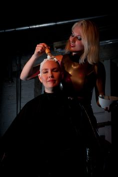 More of Kat Surth shaving Kendra Holliday's head Clipper Cut, Going Bald, Bald Girl, Great Haircuts, Bald Women, Hair Today, Your Hair, Short Hair Styles, Stylists
