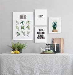 Herbs green, julisteet