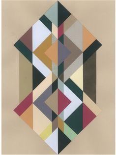 Cool decorative poster by the danish designer Berit Mogensen Lopez