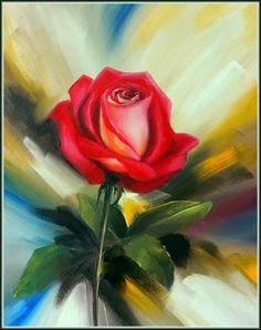 Картина (Рисунок): Сияющие розы