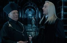 """Outside the meeting, Luscious Locks is talking to the Minister for Magic, who is cosplaying as the Pope.   This Is What It's Like To Watch """"Harry Potter And The Order Of The Phoenix"""" For The First Time"""