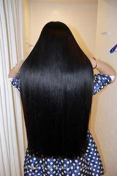 P1240828 | lijinlei | Flickr One Length Hair, Waist Length Hair, Straight Black Hair, Long Dark Hair, Beautiful Long Hair, Gorgeous Hair, Loose Hairstyles, Straight Hairstyles, Black Hair Inspiration