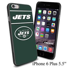 """NFL NY NEWYORK JETS , Cool iPhone 6 Plus (6+ , 5.5"""") Smartphone Case Cover Collector iphone TPU Rubber Case Black [By NasaCover] NasaCover http://www.amazon.com/dp/B012BCMMZK/ref=cm_sw_r_pi_dp_tWoXvb13BXJX8"""