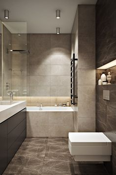 Design For Small Bathroom With Tub And Shower - Design For Small Bathroom With Tub And Shower You may not be old abundant to bethink the but you can Bathroom Tile Designs, Modern Bathroom Design, Bathroom Interior Design, Small Bathroom With Tub, Bathroom Tub Shower, Timeless Bathroom, Eclectic Bathroom, Bad Inspiration, Bathroom Inspiration