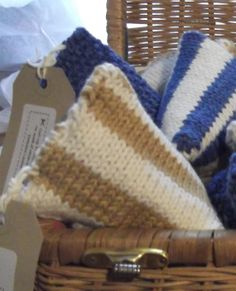 Striped Lavender Bag by CutupProductions on Etsy, £4.00