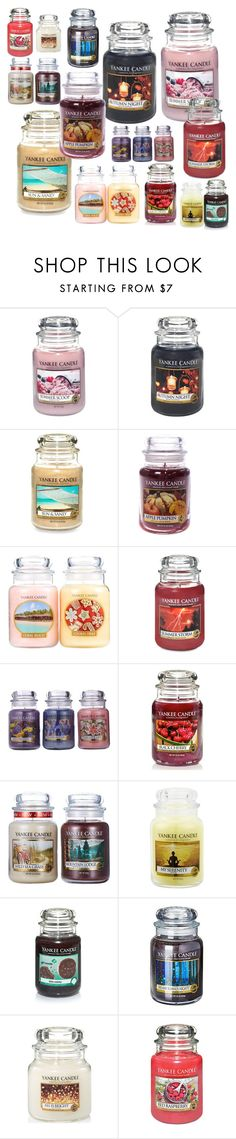"""""""Untitled #23"""" by jesseelovesbeauty ❤ liked on Polyvore featuring interior, interiors, interior design, home, home decor, interior decorating and Yankee Candle"""