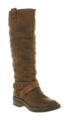 brown leather boots women | close image
