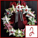 this looks like a really cool wreath idea, and I generally dont even like wreaths