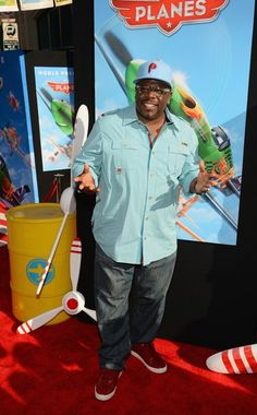 Cedric the Entertainer at the premiere of #Disney #Planes