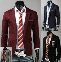 oh man, now you know i'm gonna hafta wear some of these-- looks like gryffindor, slytherin, etc! xD