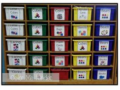 FREE Manipulative Cubby Labels                                                                                                                                                     More