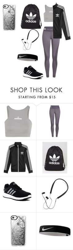 """""""Adidas"""" by pizza-olives-onions ❤ liked on Polyvore featuring adidas, adidas Originals, Polaroid, Casetify and NIKE"""