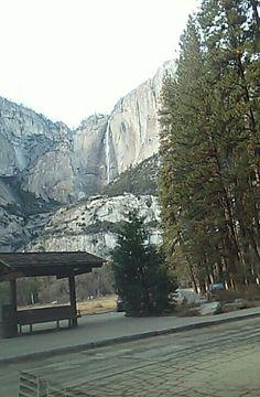 Yosemite Double Waterfall
