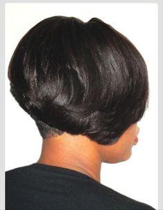 African American hair bob cut!!