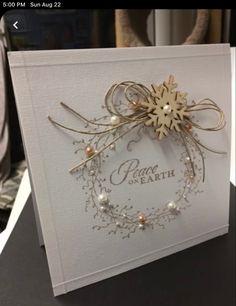 Create Christmas Cards, Christmas Scenes, Christmas Love, Christmas Items, Xmas Cards, Handmade Christmas, Holiday Cards, Christmas Crafts, Christmas Decorations