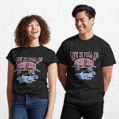 LIFE IS FULL OF IMPORTANT CHOICES FISHING GIFT FISHERMAN T-Shirt Funny Nurse Gifts, Funny Nursing, Biker, Hip Hop, Style Streetwear, Japan, My T Shirt, Shirt Dress, Tshirt Colors