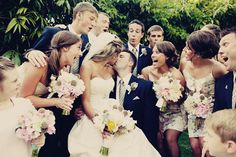Cute wedding party picture