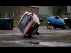 Rolling a Reliant Robin - Top Gear - BBC I had to watch this episode again. : ) #reliantrobin #3wheelcar #topgear