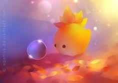 autumn dino by Apofiss