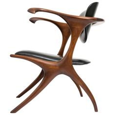 Early and Rare Evert Sodergren 'Sculptured' Chair, circa 1955 | From a unique collection of antique and modern armchairs at https://www.1stdibs.com/furniture/seating/armchairs/