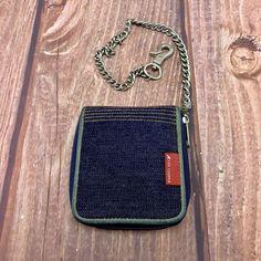 lee cooper Womans girls Wallet Purse on chain zip closure vintage pockets bag Purse Wallet, Handbags, Pocket, Zip, Purses, Chain, Vintage, Women, Totes