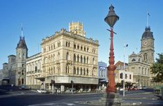 Ballarat - beautiful architecture, gotta love the rat ! Visit Australia, Australia Living, Australia Travel, Places To See, Places Ive Been, Victoria Australia, Beautiful Architecture, Big Island, Historic Homes